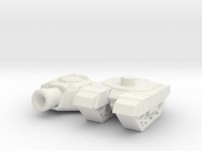 tiny tank in White Natural Versatile Plastic