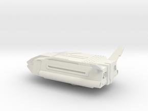 Star Commuter 2000 for X-wing Miniature in White Natural Versatile Plastic