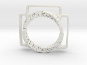bluerose_text_01_dyna in White Natural Versatile Plastic