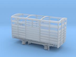 GWR VoR and W&L Cattle Van in Smooth Fine Detail Plastic