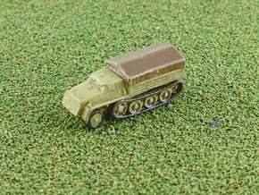 s. Wehrmachtsschlepper w. Plank Bed 1/285 in Smooth Fine Detail Plastic