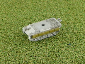 Panther Sideskirts 1/285 6mm in Smooth Fine Detail Plastic