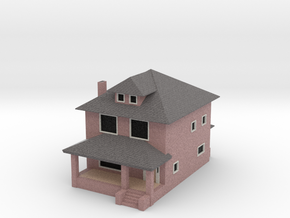 Sears Rockford House - Zscale in Full Color Sandstone