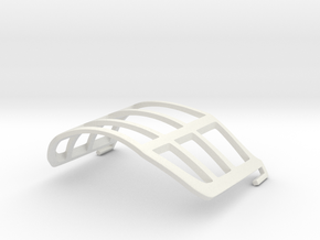 Mouth Mask Protector in White Natural Versatile Plastic