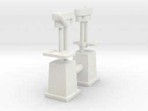 Column Drill (x2) 1/64 in White Natural Versatile Plastic