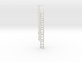 20ft Cage Ladder 1/72 in White Natural Versatile Plastic