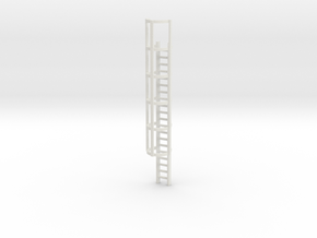 20ft Cage Ladder 1/64 in White Natural Versatile Plastic