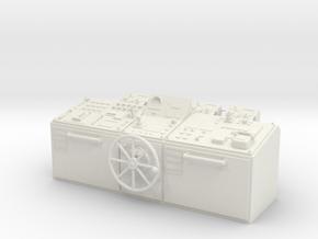 Control console, universal in White Natural Versatile Plastic: 1:25