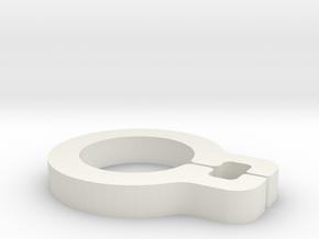 Zocus - Cable Loop in White Natural Versatile Plastic