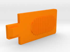 taquet de fermeture-robot piscine-closing cleat in Orange Processed Versatile Plastic
