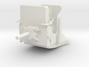 Seat Typ B in White Natural Versatile Plastic: 1:25