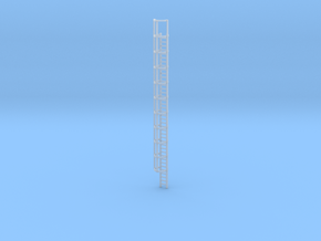 40ft Cage Ladder 1/120 in Smooth Fine Detail Plastic