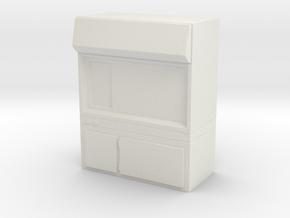 Fume Hood 1/43 in White Natural Versatile Plastic