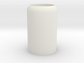 Small Nub in White Natural Versatile Plastic