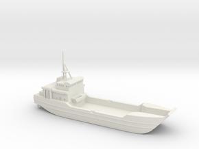 1/600 Scale US ARMY LCU-2000 RUNNYMEADE in White Natural Versatile Plastic
