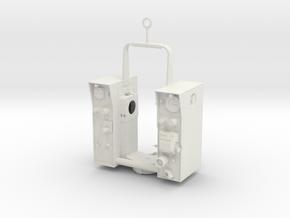 Geodimeter Model 6 - Body 1/4 scale in White Natural Versatile Plastic
