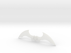 Arkham Asylum Batarang in Smooth Fine Detail Plastic