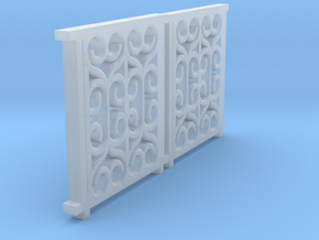 o-148fs-lswr-d414-27-folding-gate-set in Smooth Fine Detail Plastic