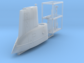 GUPPY Portsmouth Sail, USS Torsk, 1/350 in Smooth Fine Detail Plastic