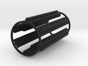 MR .45 T-grips DarthV Ep4 ANH in Black Natural Versatile Plastic