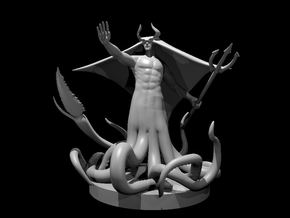 Warlock of the Deep in Smooth Fine Detail Plastic