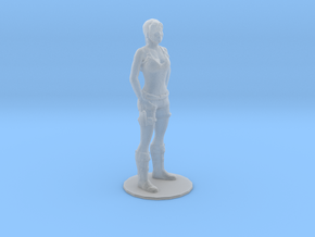 1/60 Tomb Raider Standing in Smooth Fine Detail Plastic