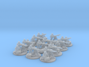 Storm Knights Heavy Weapons Teams in Smooth Fine Detail Plastic