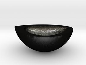 Nutshell-8-9 in Matte Black Steel