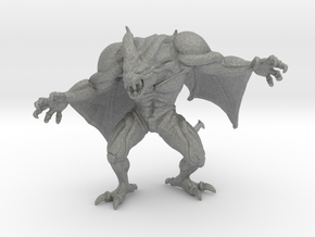 Castlevania Dracula Demon 45mm DnD miniature games in Gray PA12