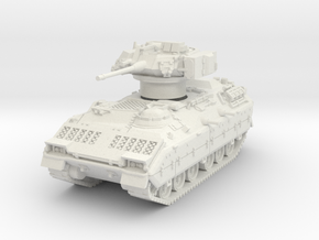 M2A1 Bradley (TOW retracted) 1/64 in White Natural Versatile Plastic