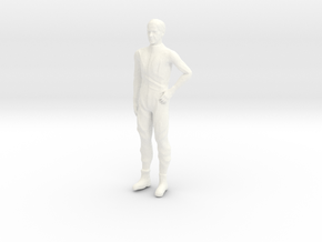 Lost in Space - 1.35 - Dr Smith - Silver Suit in White Processed Versatile Plastic
