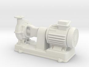 Motor Pump 1/72 in White Natural Versatile Plastic