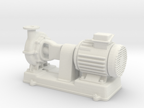Motor Pump 1/48 in White Natural Versatile Plastic