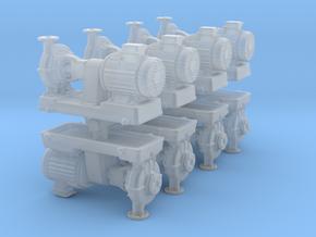 Motor Pump (x8) 1/160 in Smooth Fine Detail Plastic