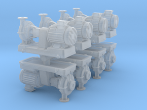 Motor Pump (x8) 1/285 in Smooth Fine Detail Plastic