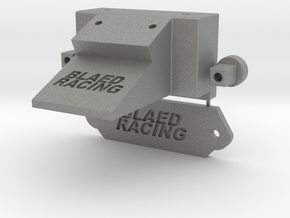 Blaed Racing Slayer Bulkhead w Parts Connected in Gray PA12