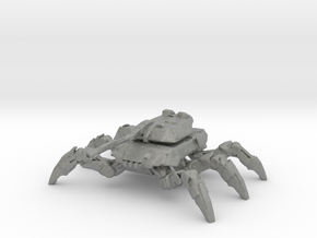 Spider Tank 129mm miniature fantasy game rpg scifi in Gray PA12