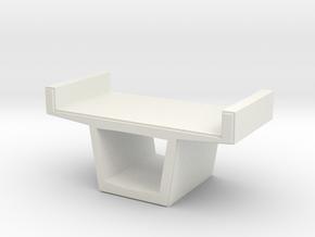 Concrete Viaduct 1/200 in White Natural Versatile Plastic