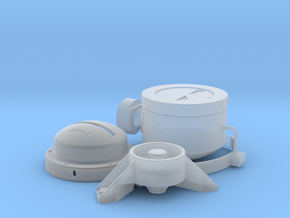 1:6 German Bosch Headlight in Smooth Fine Detail Plastic