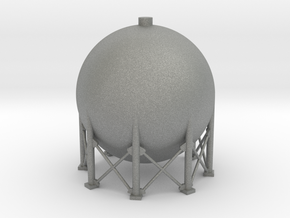 N Scale Spherical Tank 137m3 in Gray PA12