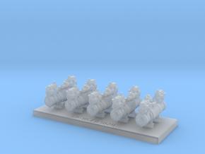Grappe de 5 pompes ACFI type 230x166x166-230 in Smooth Fine Detail Plastic