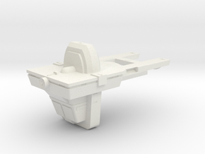 1400 Automated Tug TOS in White Natural Versatile Plastic