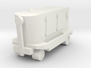 TLD Ground Power Unit 1/87 in White Natural Versatile Plastic