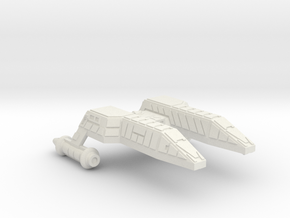 3788 Scale Lyran Refitted Leopard-M Minesweeper in White Natural Versatile Plastic