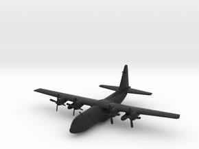 Lockheed C-130 Hercules in Black Natural Versatile Plastic