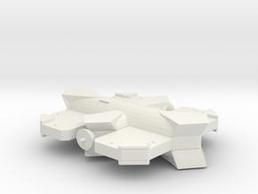 3125 Scale Probr Logistics Base MGL in White Natural Versatile Plastic