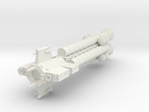 Aries Class Destroyer in White Natural Versatile Plastic