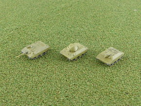 Porsche light Tank Type 245 Projects 1/285 in Smooth Fine Detail Plastic