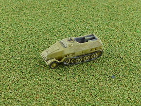 SdKfz. 8 12to Prime Mover armoured 1/285 6mm in Smooth Fine Detail Plastic