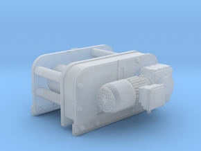 1/87 Patterson Facing Winch in Smooth Fine Detail Plastic
